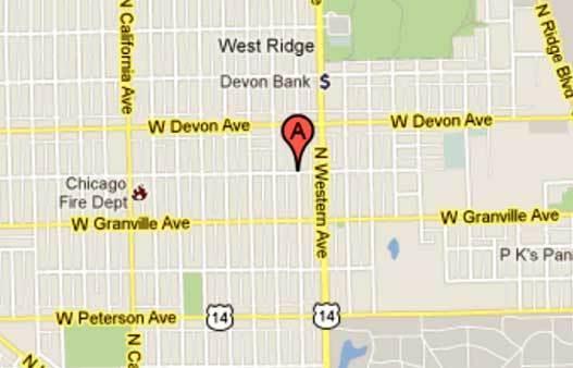 6300 block of North Artesian Avenue