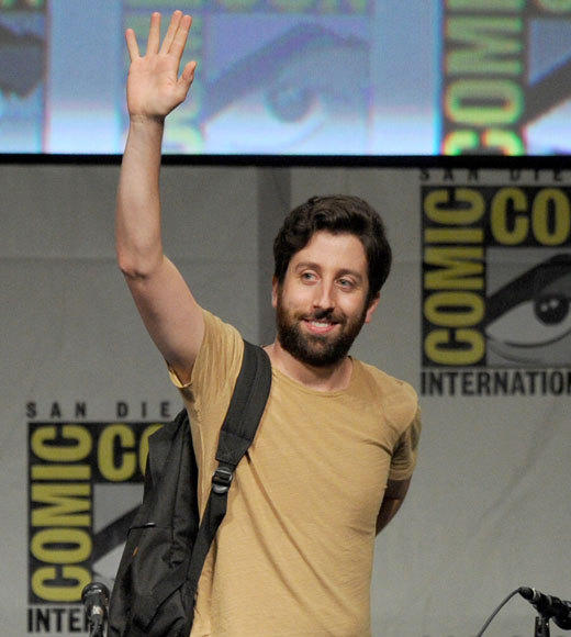 Celebs at Comic-Con 2012: Simon Helberg