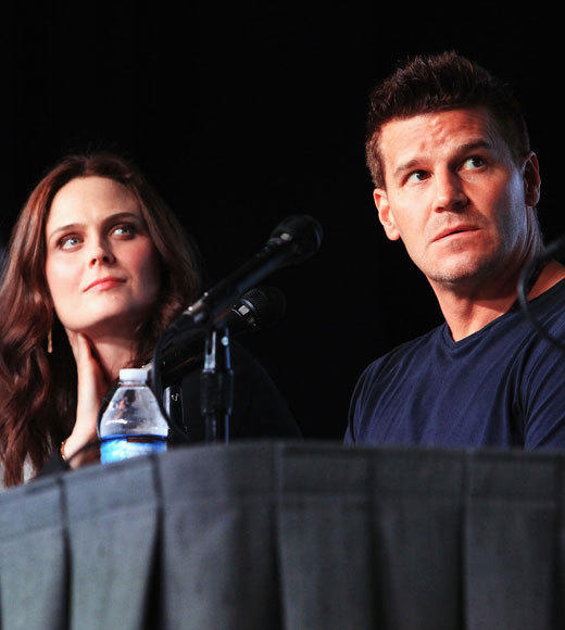 Celebs at Comic-Con 2012: Emily Deschanel and Mark Boreanaz