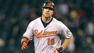 Orioles pregame: Chris Davis making his first big-league start in left