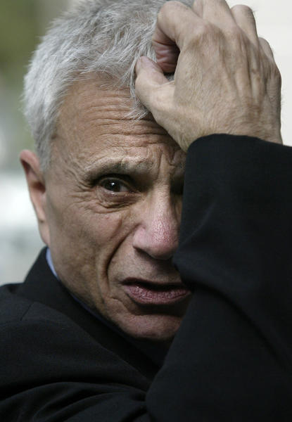 "On Wednesday, actor Robert Blake, shown above at his 2005 murder trial, stopped by ""Piers Morgan Tonight"" to promote his new self-published memoir, ""Tales of a Rascal."" When Morgan asked about Blake's deceased wife, who he was acquitted of killing in 2005, Blake went on a tirade.
