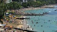 Honolulu, Hawaii was voted the best area for a romantic getaway.