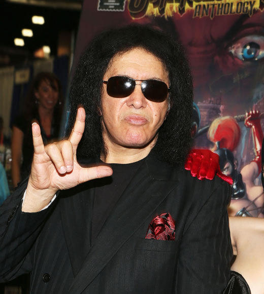 Celebs at Comic-Con 2012: Gene Simmons