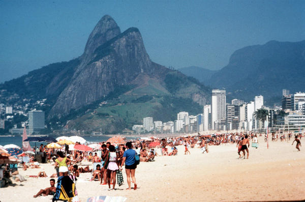 Rio de Janeiro and its Ipanema beach, backed by forested mountains, are among the attractions that cruisers are discovering in South America.