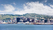 The capital of New Zealand--Wellington--places fourth.