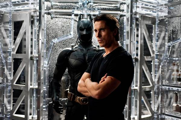 Christian Bale as Bruce Wayne in 'The Dark Knight Rises,' the final installment in Christopher Nolan's Batman series.