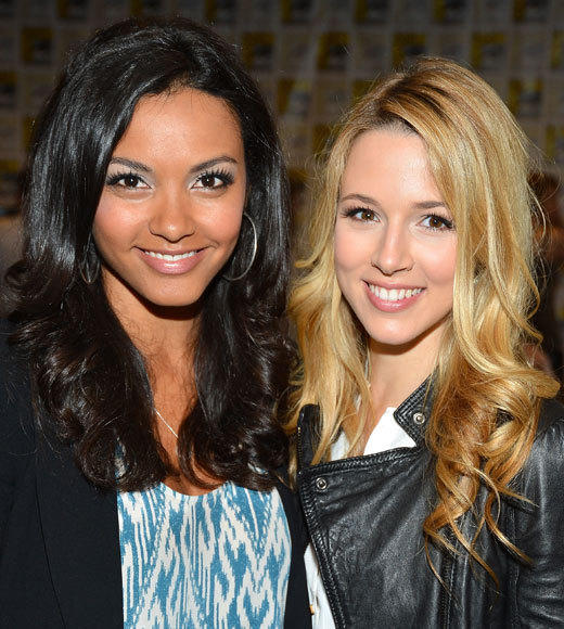 Celebs at Comic-Con 2012: Alona Tal and Jessica Lucas