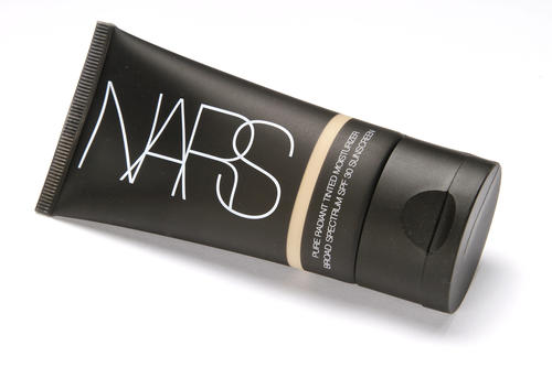 Hot weather calls for makeup that will stay put and look natural. Commercial makeup artist Allie Lapidus recommends using oil-free, highly pigmented concealers and moisturizers, instead of foundation, and applying as little as possible to prevent it from sliding. Nars Pure Radiant tinted moisturizer ($42) incorporates broad-spectrum sun protection.