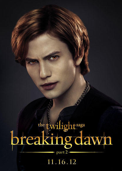 'The Twilight Saga: Breaking Dawn - Part 2' pictures: Jasper