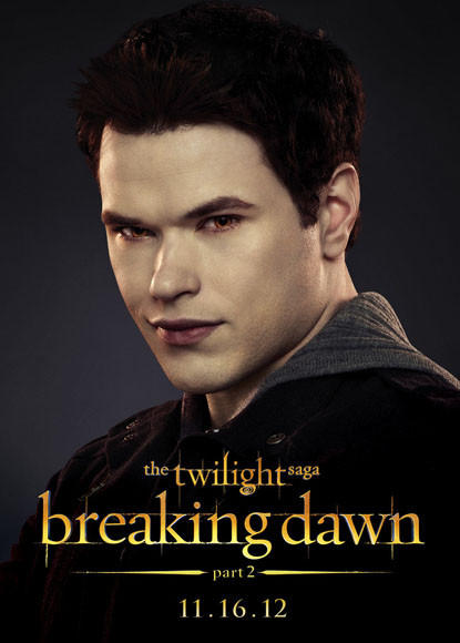 'The Twilight Saga: Breaking Dawn - Part 2' pictures: Emmett