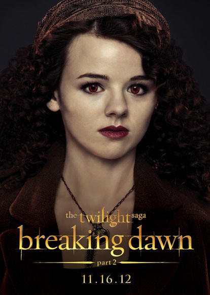 'The Twilight Saga: Breaking Dawn - Part 2' pictures: Maggie