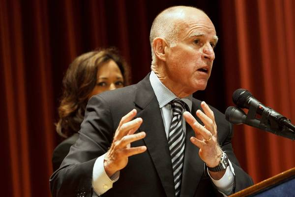 Gov. Jerry Brown signed a flurry of bills that will take effect in January.