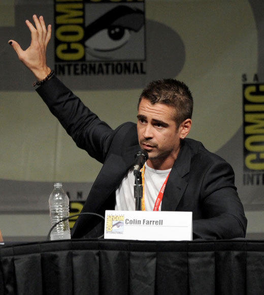 Celebs at Comic-Con 2012: Colin Farrell