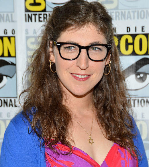 Celebs at Comic-Con 2012: Mayim Bialik