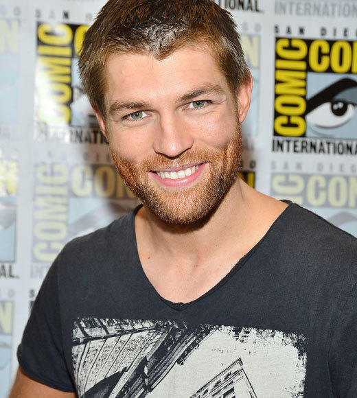 Celebs at Comic-Con 2012: Liam McIntyre