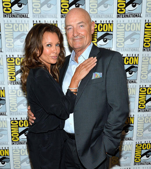 Celebs at Comic-Con 2012: Vanessa Williams and Terry OQuinn