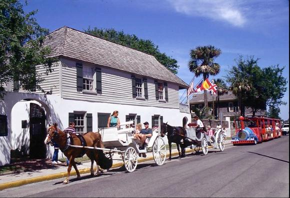 Historic homes in St. Augustine