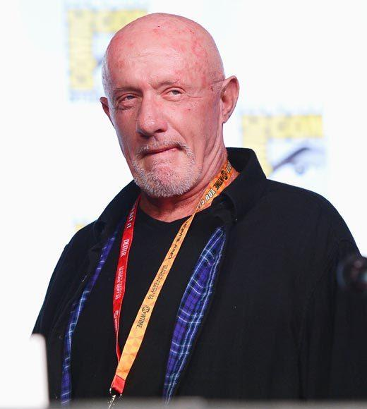 """Vince [Gilligan] gave me a whole list of things I can't talk about, I can't remember what they are. I'm lucky I got asked a question for Chrissakes."" -- Jonathan Banks"
