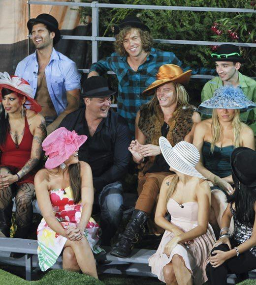 'Big Brother 14' preview pictures: The players and their fancy hats for a competition