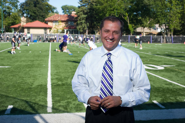 Northwestern athletics director Jim Phillips.