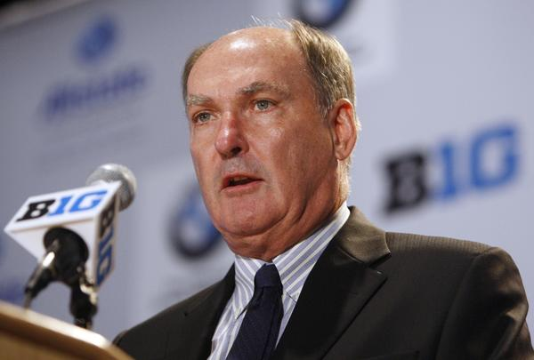 Big Ten commissioner Jim Delany.