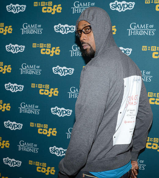 Celebs at Comic-Con 2012: RZA