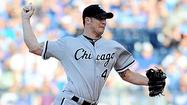 Royals reach Peavy for 12 hits as Sox lose 6-3