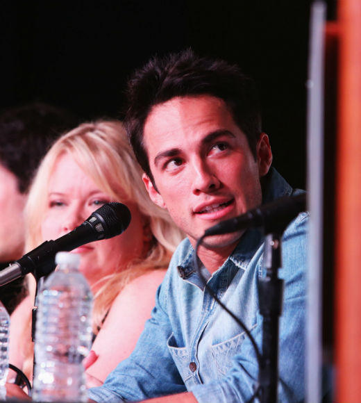 Overheard at Comic-Con 2012: Michael Trevino on the worst part of the job: The cookies at catering.  Trevino on the best part of the job: The cookies.