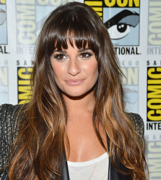 Celebs at Comic-Con 2012: Lea Michele