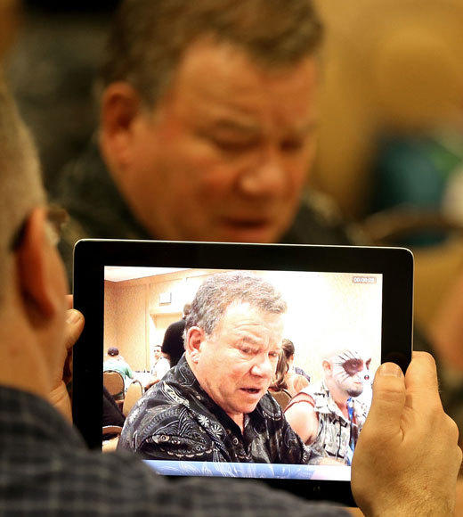 Celebs at Comic-Con 2012: William Shatner