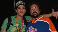 Jason Mewes and Kevin Smith (AKA Jay and Silent Bob)