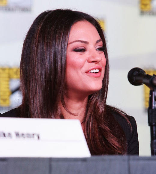 Celebs at Comic-Con 2012: Mila Kunis