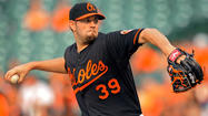 The Orioles got both good and bad news from a MRI taken Saturday on pitcher Jason Hammel's painful right knee, which forced him out of Friday's game in the fourth inning.