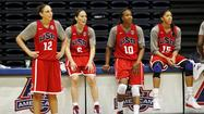 Diana Taurasi, Sue Bird, Tamika Catchings, Candace Parker