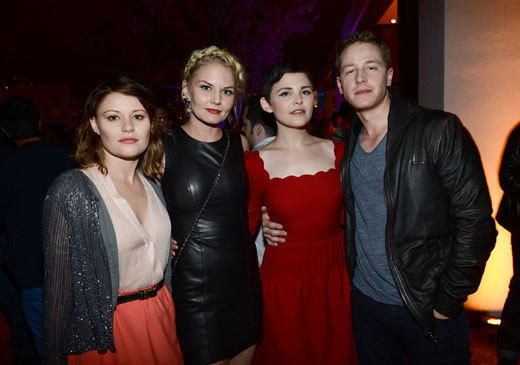 Celebs at Comic-Con 2012: Emilie de Ravin, Jennifer Morrison, Ginnifer Goodwin and Josh Dallas