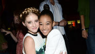 Willow Shields and Amandla Stenberg