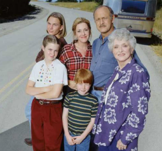 "The cast of the ""Promised Land"" television series included Celeste Holm as a grandmother who accompanied her family on their travels around the United States in an Airstream trailer. 