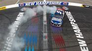Kahne wins at New Hampshire, Bowyer is 3rd
