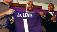 "<strong>July 21, 2000:</strong> Jamal Lewis, the fifth player picked in the NFL draft, agrees to a six-year contract with the Ravens worth in excess of $35 million. ""It's important for us as a team, and Jamal as a player, to get started on the right foot,"" Ravens coach Brian Billick says. The running back from Tennessee will ramble for 1,364 yards in the regular season and 102 more in Baltimore's Super Bowl victory over the New York Giants."