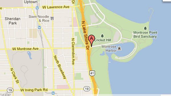 Swimmer rescued, taken to hospital on North Side