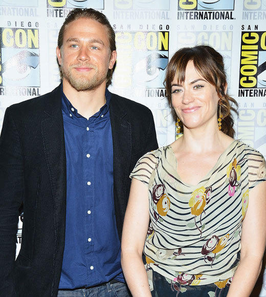 Celebs at Comic-Con 2012: Charlie Hunnam and Maggie Siff
