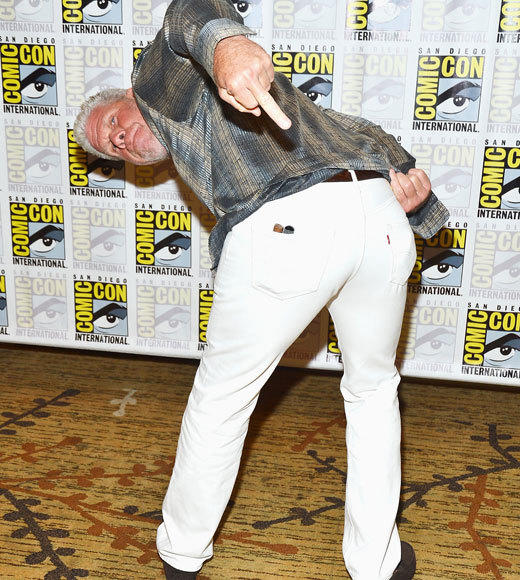 Celebs at Comic-Con 2012: Ron Perlman