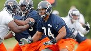 Assembling offensive line interesting task for Bears