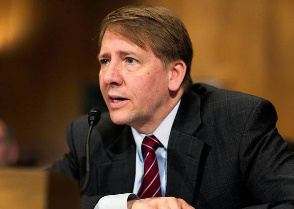"""Supervising this market will help ensure that it works properly for consumers, lenders and the wider economy,"" said Richard Cordray, director of the Consumer Financial Protection Bureau. Above, Cordray testifies last month during a Senate Banking Committee hearing."