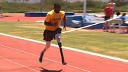 CHULA VISTA, Calif. - Sprinter Blake Leeper just got a pair of fresh legs in March that he'll use at three Paralympics events.