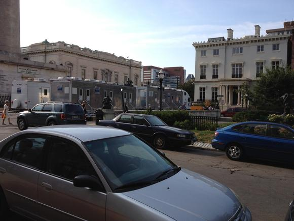 'House of Cards' filming in Mount Vernon