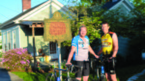 Danville men raising money for bike ride