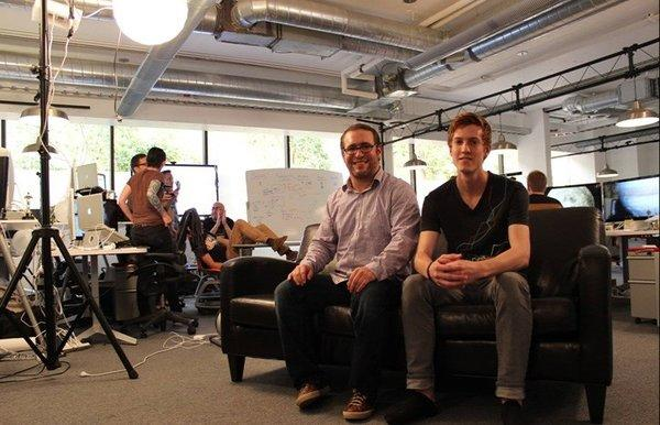 Joel Resnicow, left, and Kyle Fleming, co-founders of Rexly.