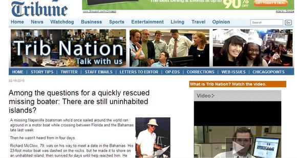Trib Nation, in the early days. (James Janega screengrab)