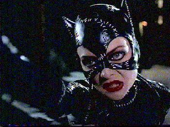Michelle Pfeiffer played Catwoman? Yep. Personally, Danny DeVito stole the show in this one, but Pfeiffer was about 10 times better than what came next...